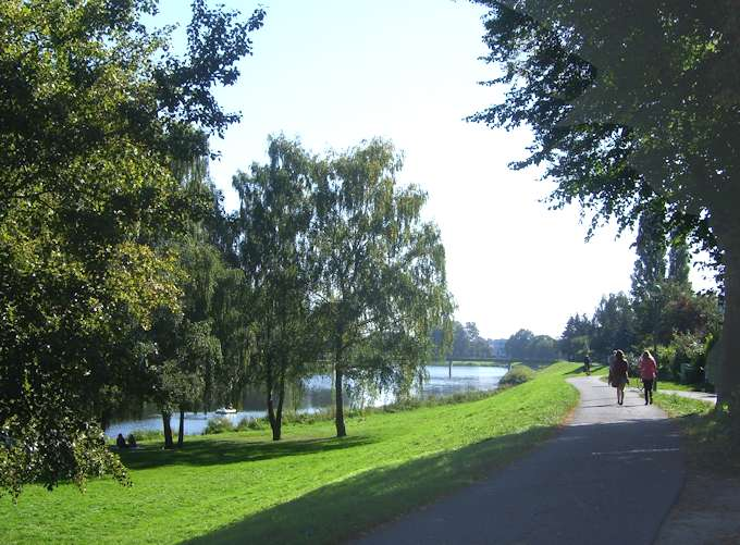 Lungo il fiume Weser