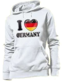 I love Germany - felpa donna