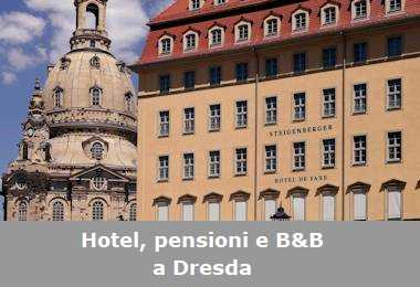 Hotel, pensioni e Bed and Breakfast a Dresda