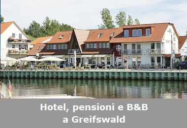 Hotel, pensioni e Bed and Breakfast a Greifswald