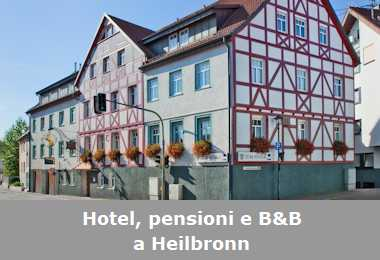 Hotel, pensioni e Bed and Breakfast a Heilbronn