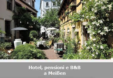 Hotel, pensioni e Bed and Breakfast a Meißen