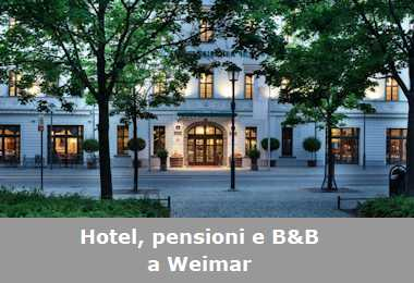 Hotel, pensioni e Bed and Breakfast a Weimar